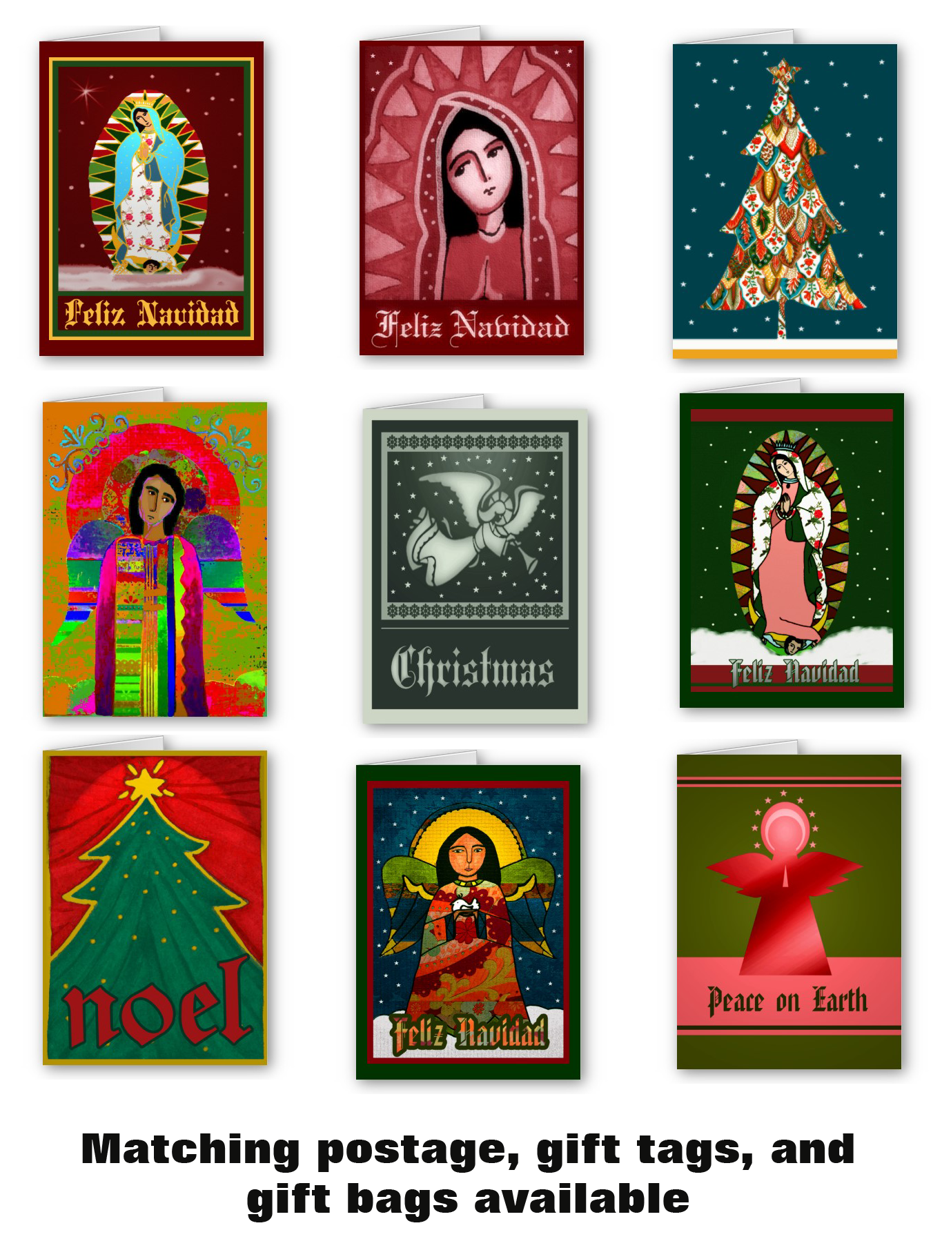 Unique artist designed Christmas cards… | STUCCOLOCO