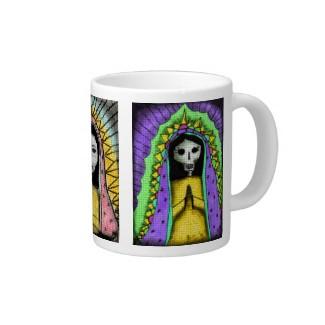 Day of the Dead espresso mug